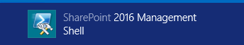 SharePoint 2016 Management Shell