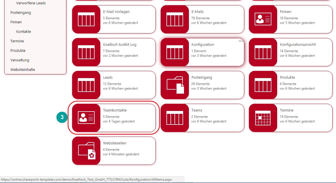 SharePoint Ansicht Standardansicht erstellen Templates Listen Spalten Websiteinhalte