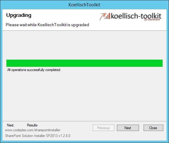 koellisch-toolkit upgrade successful