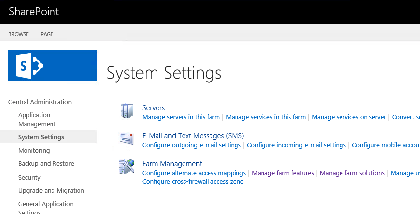 SharePoint2016_SystemSettings