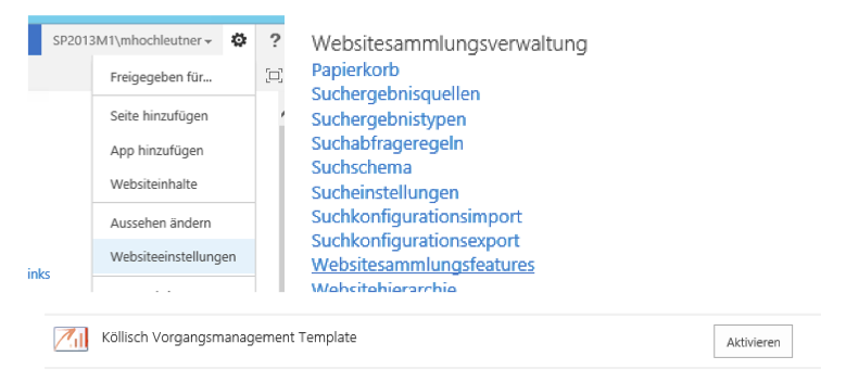 Installationsanleitung f r das vorgangsmanagement auf for Knowledge base template sharepoint 2013