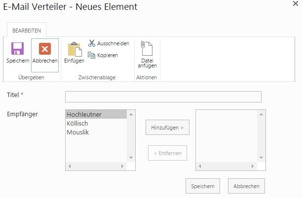 SharePoint Ticketsystem E-Mail-Vorlagen