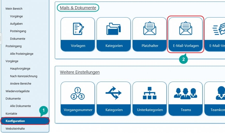 SharePoint Templates Solutions Lösungen Posteingang eigene E-Mail-Vorlage 1