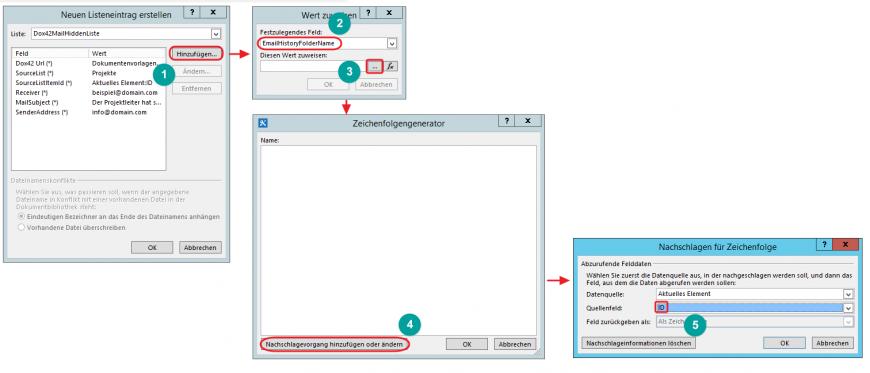 SharePoint Designer EmailHistoryFolderName