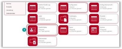 SharePoint Template Lösung Listen Spalten Websiteinhalte Ansicht ändern