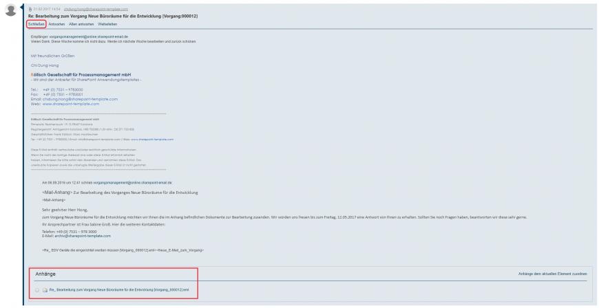E-Mail Kommunikation minimieren SharePoint