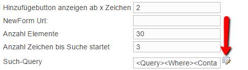 Screenshot Button QueryBuilder