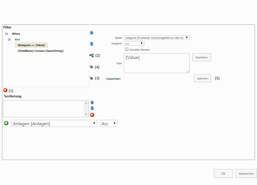 Screenshot QueryBuilder